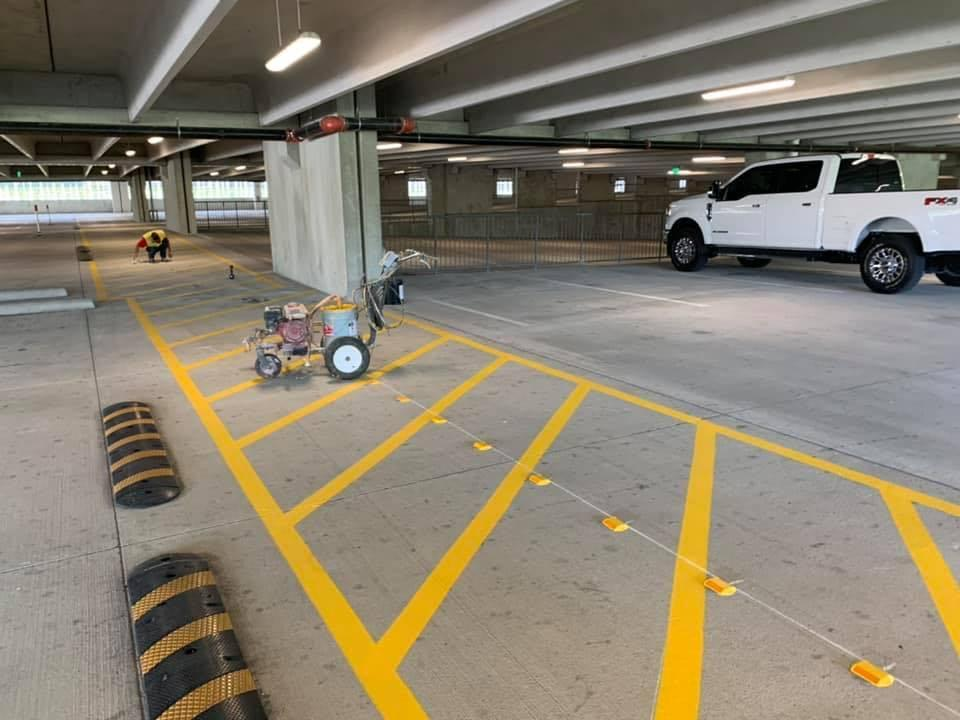 parking lot striping dallas tx commercial best company services near me texas parking lot striping company dash image 2